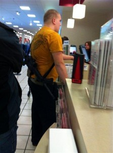 Joseph Kelley, protecting Utah JC Penney Shoppers from Tyranny.